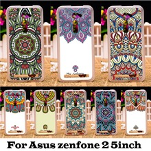 Hard Plastic Soft TPU Phone Cases Asus Zenfone 2 ZE500CL 2E Z00D Zenfone2 5.0 Inch Protection Cover Colors Flowers - TAOYUNXI 3C Products Mall store