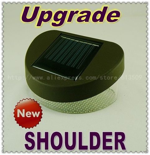 Free shiping Solar garden light/Solar Wall lamp+100% Solar+Cold white/Warm white LEDs+Higher watts of solar lamp+4pcs/lot