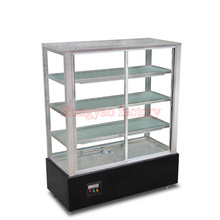 RY-RS-680 Commercial vertical 1.2 m hot food warmer displays case fresh-keeping cabinets display cabinet(China (Mainland))
