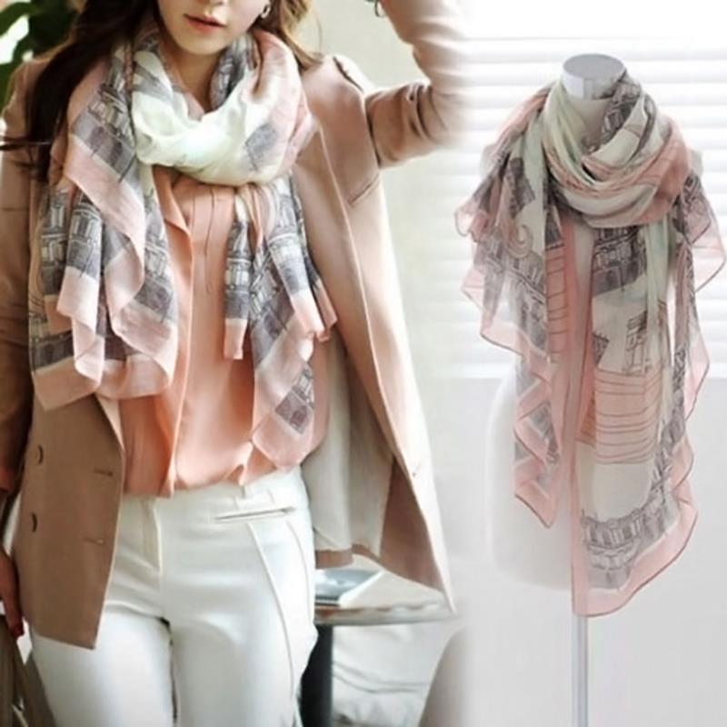 winter acrylic cashmere font b tartan b font scarf brand blanket shawl designer wrap for Lady