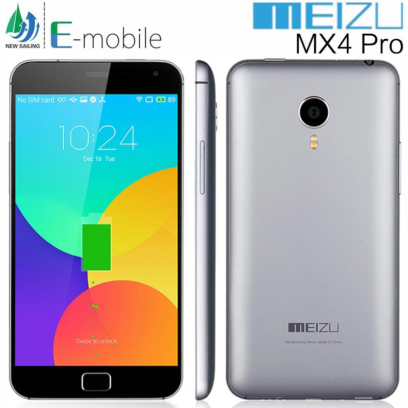 "Original Meizu MX4 Pro 5.5"" Mobile Phone Exynos 5430 2.0GHz Octa Core 3GB RAM 64GB ROM Android 4.4 FDD-LTE 4G 2560x1536P 20.7MP(China (Mainland))"