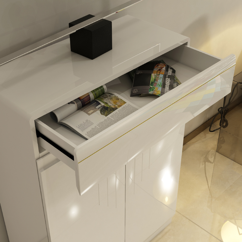 Simple paint shoe slim easy to assemble off the entrance hall cabinet lockers(China (Mainland))