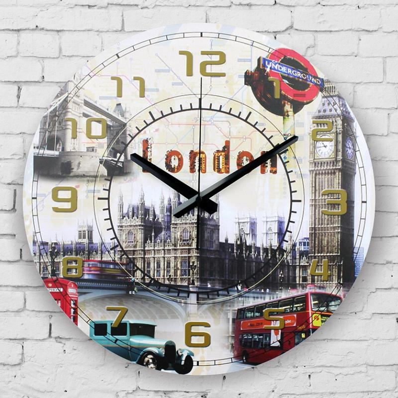 Horloge murale big ben for Horloge murale grande taille
