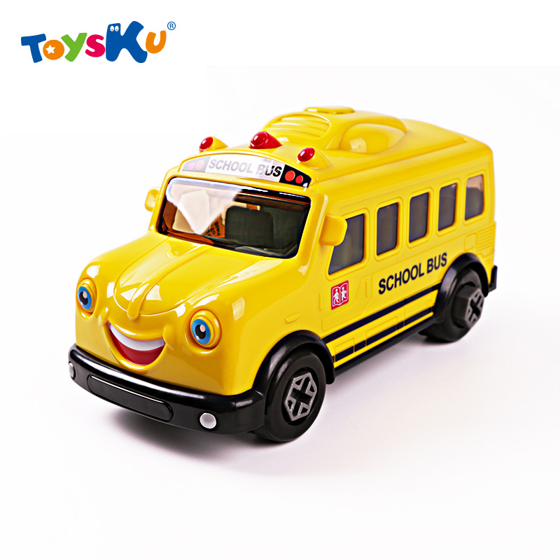 Educational Children the combination of Screw Nut Disassembly Assembly School Bus 3-6 Year-old boy Assembly Toys(China (Mainland))