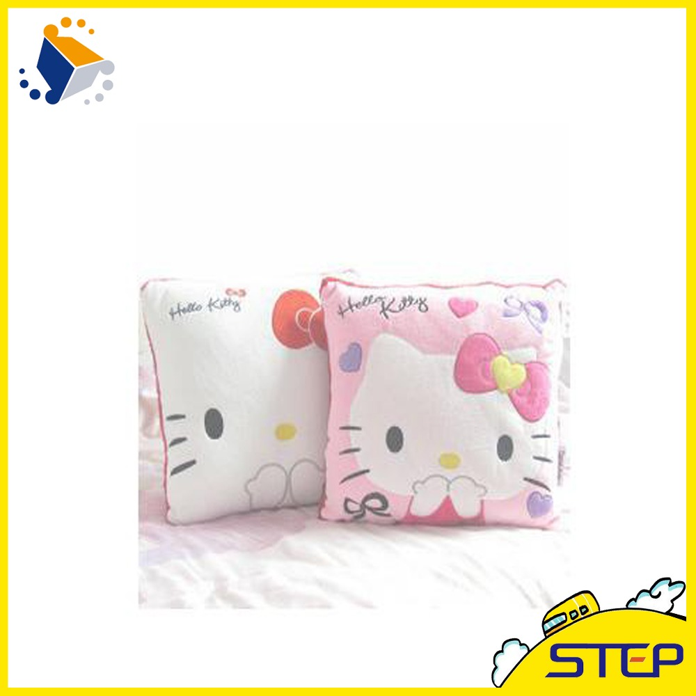 35*35CM Super Kawaii Hello Kitty Pillows Soft Cushion Stuffed Plush Toys Home Decoration Good Quality Special Offer ST028(China (Mainland))
