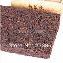 Free Shipping The 250g Chinese Yunnan Old Puer Tea Ripe Pu er Tea Health Care Brick