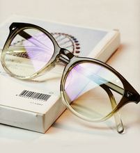 2015 New Arrival Japan Retro Round Glasses Frame Men/Women Myopia Eyeglasses Prescription Frames Plain Mirror Free Shipping
