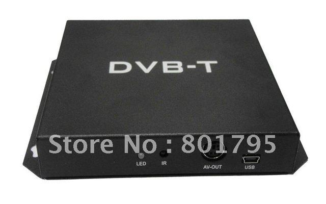 DVB T Receiver Digital TV Receiver DVB-t MPEG-4 with Double digital TV antennas