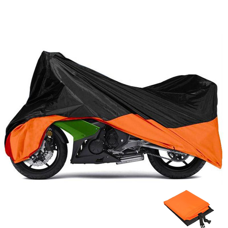 XXL Big Size Motorcycle Cover Rain UV Dust Prevention Dustproof For Harley Touring Road King Electra Glide Street Glide Fat Boy(China (Mainland))