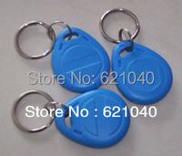 RFID 125KHz Writable Rewrite T5577 keyfobs Proximity Access tag keyfobs -100pcs