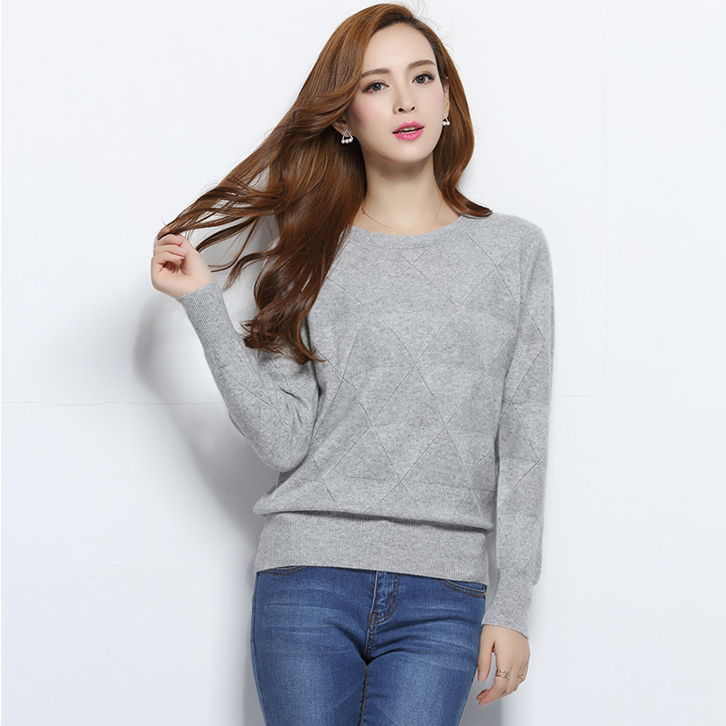 2016 Autumn Winter New Brand Cashmere Wool Knitted Sweater and Pullovers O Neck Long Sleeve Solid Color Wear(China (Mainland))