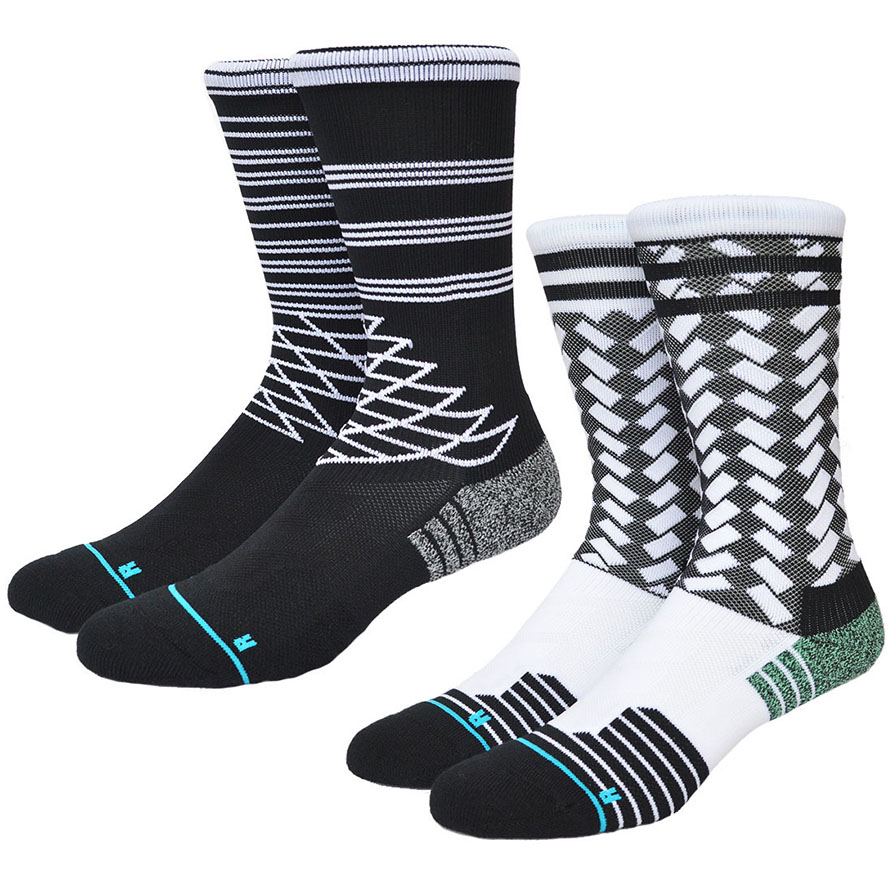 USA Brand Stanced Socks Quick Drying Nylon Compression Basketball Socks Rush Running Soccer Men Socks Sport 584w(China (Mainland))