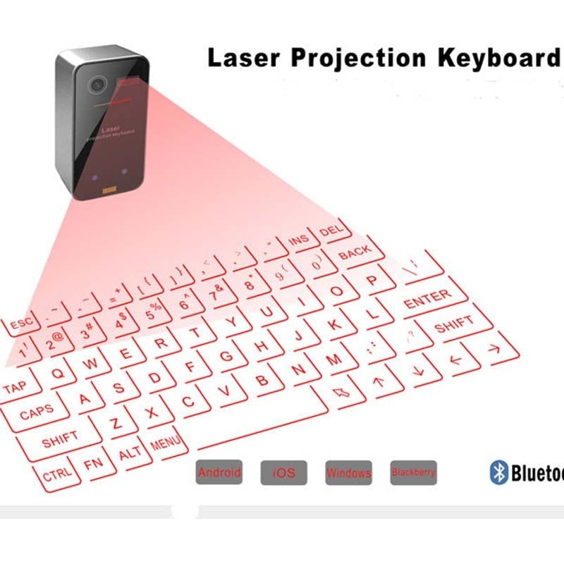 Wireless Bluetooth Virtual Laser Projection Keyboard Mouse For Phone Iphone PC Ipad,Bluetooth speaker,Projection Keyboard(China (Mainland))