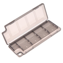 Brand New 10 in1 Game Memory Card Holder Storage Case Box for PS Vita ER PSV Black Free Shipping(China (Mainland))