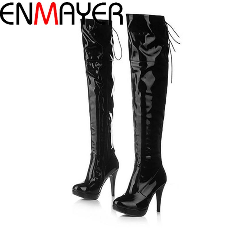 aliexpress buy enmayer fashion autumn boots