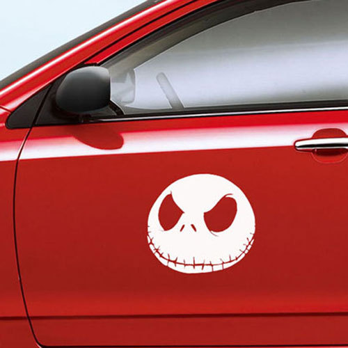 Cars Accessories Stickers Monster Nightmare Before Christmas Design A Car Sticker Custom free shipping M221()
