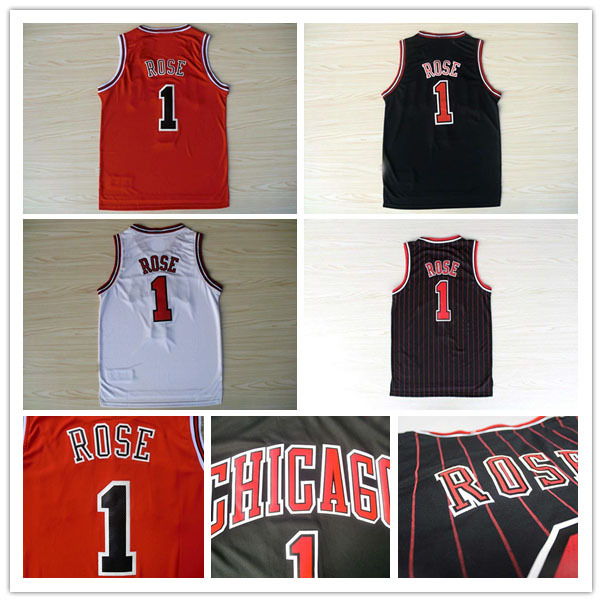 2015 HOT Chicago #1 Derrick Rose Jersey, High Quality Embroidery Logos Basketball Jerseys, summer New Material Rev 30 jersey(China (Mainland))