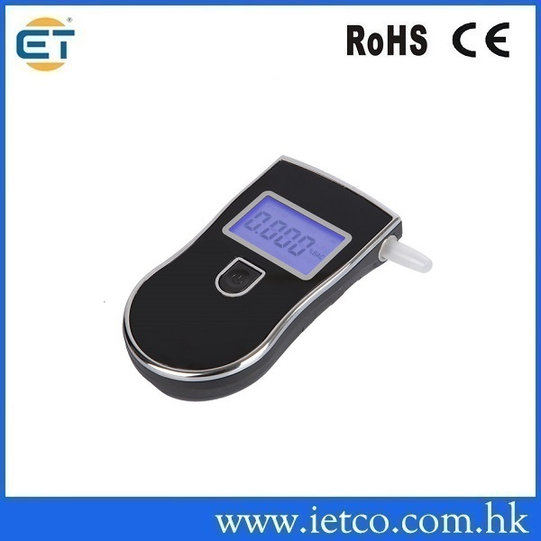 Patent Police Black Digital Alcotest Alcohol Breath Analyzer Detector Breathalyzer Tester Test(Hong Kong)
