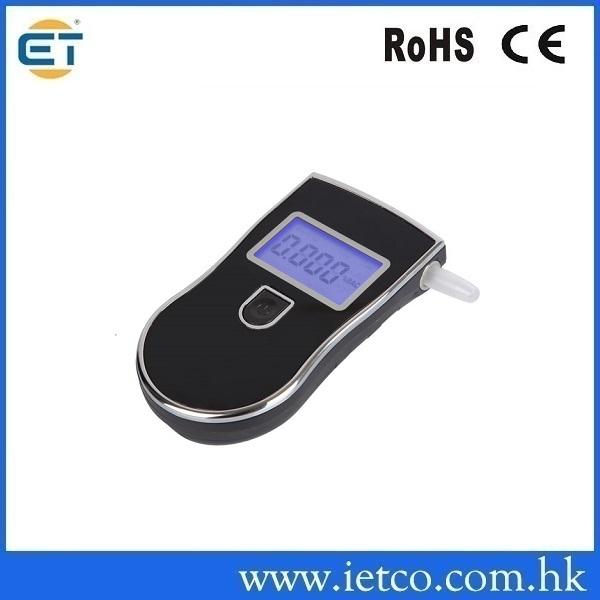 Patent Police Black Digital Alcotest Alcohol Breath Analyzer Detector Breathalyzer Tester Test(Hong Kong)