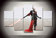 Framed Printed star wars sith dark side Painting children's room decor print poster picture canvas Free shipping/ny-3027