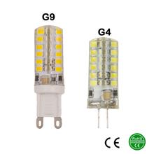 G9 G4 LED lamp 220V 230V240V 9W 2835SMD 48SMD LED Bulb Light 360 Beam Angle LED spot light warranty Free Shipping