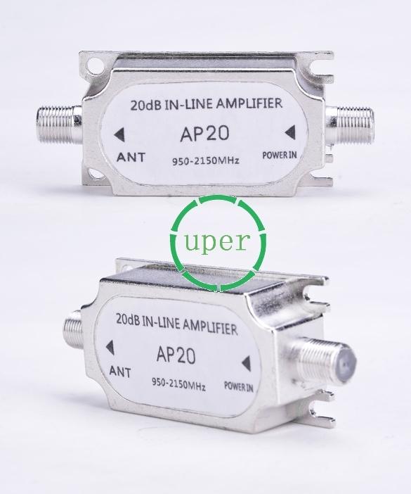 Satellite TV Signal Amplifier TV signal amplification of 20dB amplificador de sinal de televisao por satelite SV011982(China (Mainland))