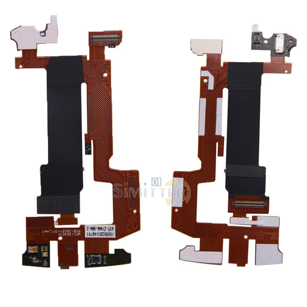 S1M# New Replacement Main Slide Flex Cable Ribbon for Blackberry Torch 9800(China (Mainland))