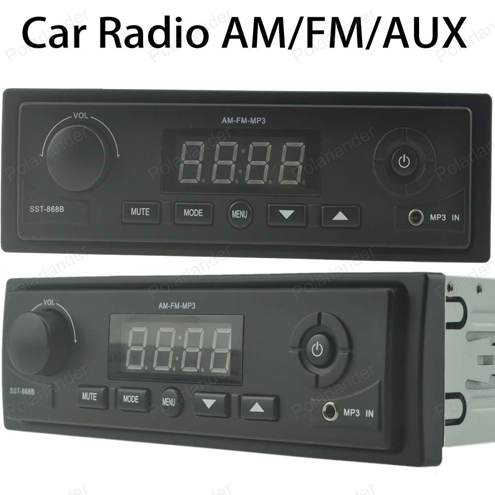 New Car Radio Stereo Player AUX-IN MP3 FM 1 Din 12V Car Audio For Buick Free Shipping(China (Mainland))
