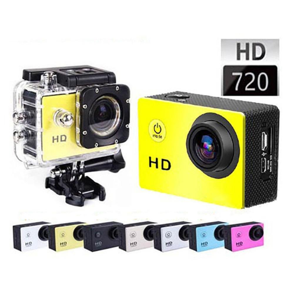 GOLDFOX SJ4000 Waterproof Sports Cam Sport DV Mini Camcorders 720P HD Camera Helmet Bike Car Cam with Retail Box Monopod sd card(China (Mainland))