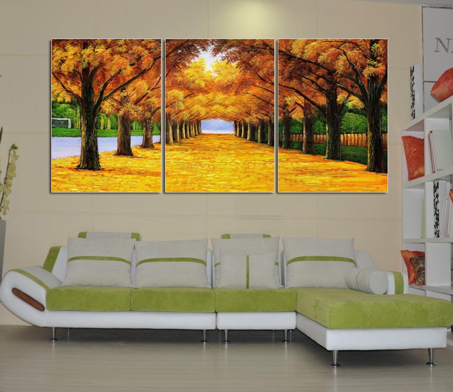 Modern wall stickers decorative painting frame painting for Wall art paintings for living room