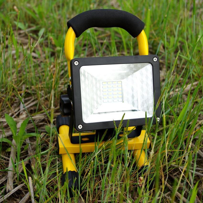 Brightness Waterproof IP65 30W 24LED 3 Modes Floodlight Portable Rechargeable LED Work Emergency light Camping Fishing