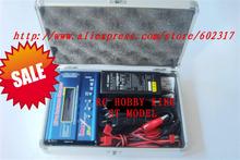 10pcs 3 in 1 combo Imax b6 Digital RC Lipo NiMh Battery Balance Charger AC Power 12v 5A Adapter supply charger tool box