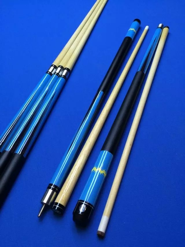 fashion customized cheap white wood billiard cues,billiard pole stick , pool cue stick, 1/2-piece snooker table que rod products(China (Mainland))