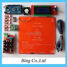 Free ship!ramps kit=Ramps 1.4 SD ramps MK2B Mega2560 R3/2G memory card Cooler Fan/A4988 / Endstop etc.For 3D Printer kit RepRap