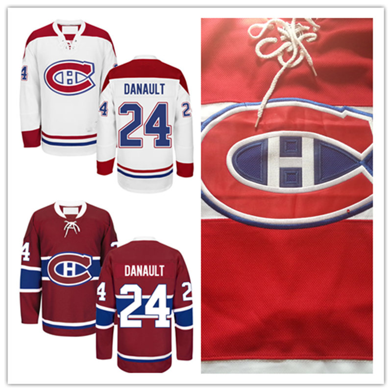 Newest! Mens Stitched cheap Montreal 2016 new Away White Home Red hockey Jerseys #24 Phillip Danault Montreal Hockey Jersey<br><br>Aliexpress