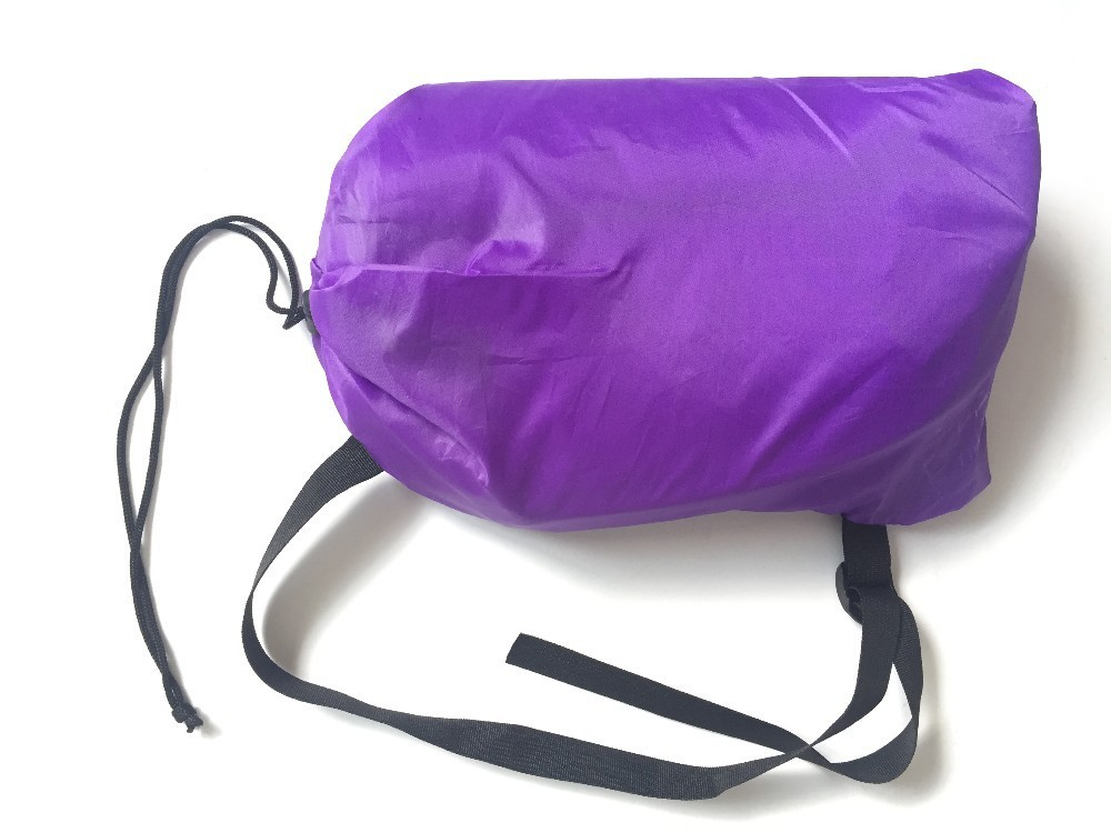 Brand YUETOR Beach camping sleep Air Bed Lounger laybag Outdoor Hangout fast folding sleeping inflatable lazy sofa lay bag