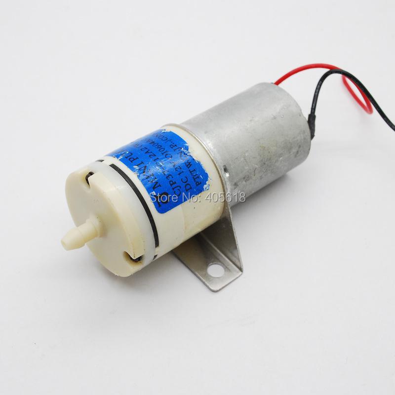 370 motor 12V DC air pump / aquarium fish oxygen pump / oxygen filling pump with holder free shipping(Hong Kong)