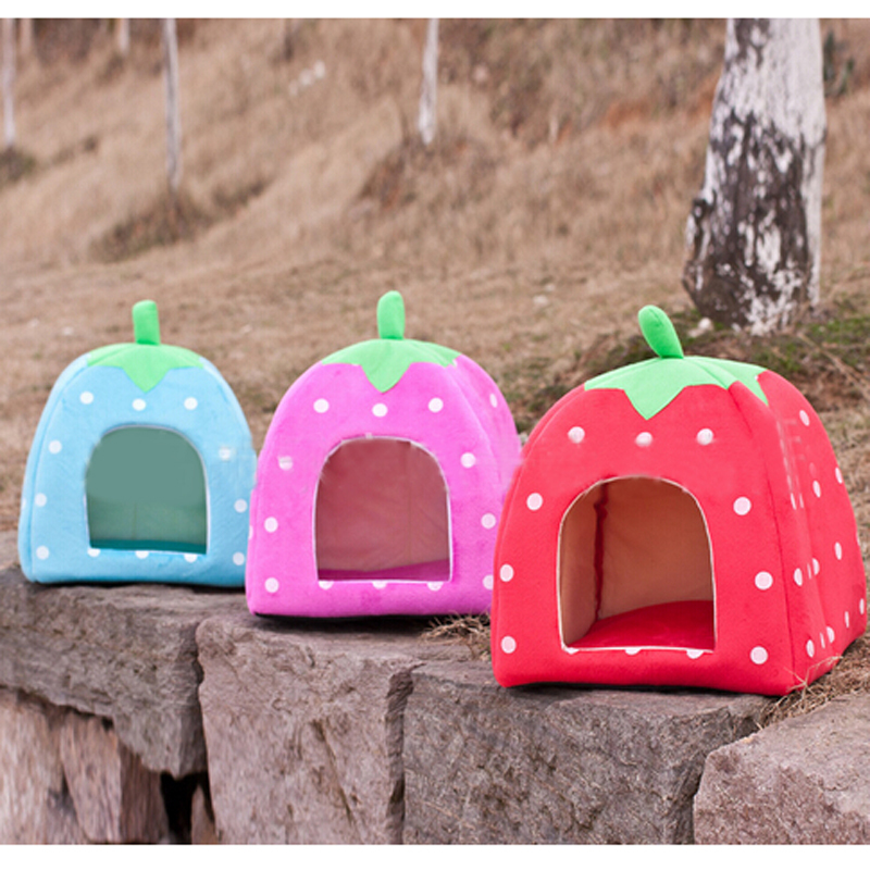 2015 NEW 1PCS Soft Sponge Pet Dog Cat Bed Houses Lovery Warm Doggy Kennel Dog Home, Free Shipping(China (Mainland))