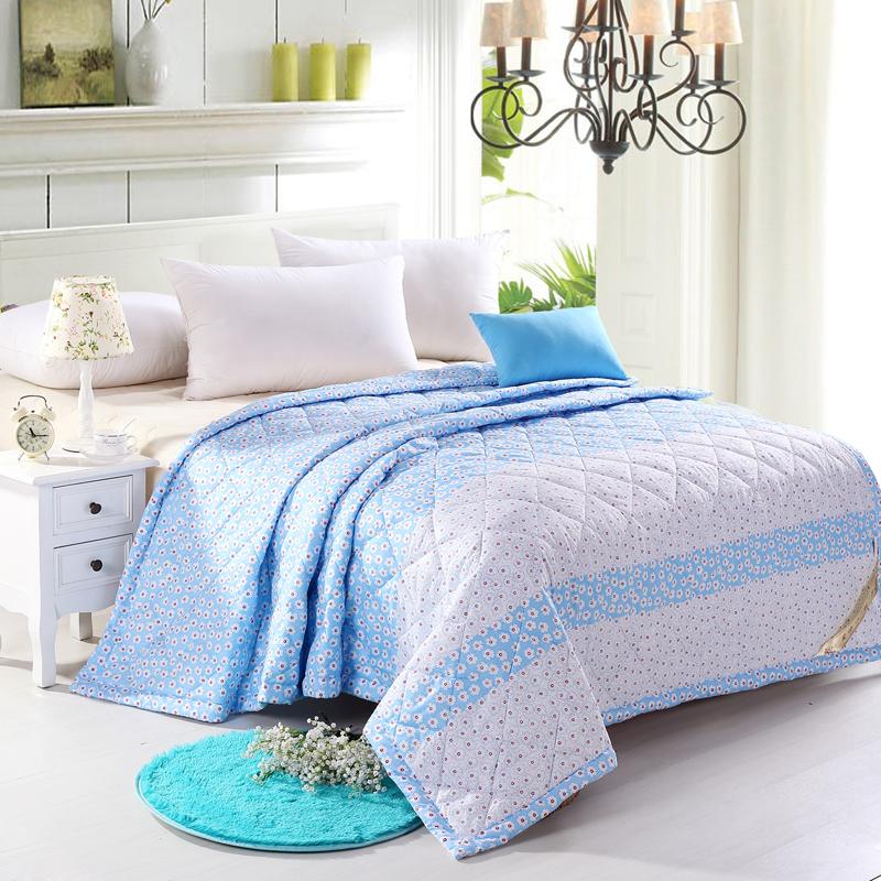 summer quilts microfiber summer comforter light weight cotton thin summer bedding set in. Black Bedroom Furniture Sets. Home Design Ideas