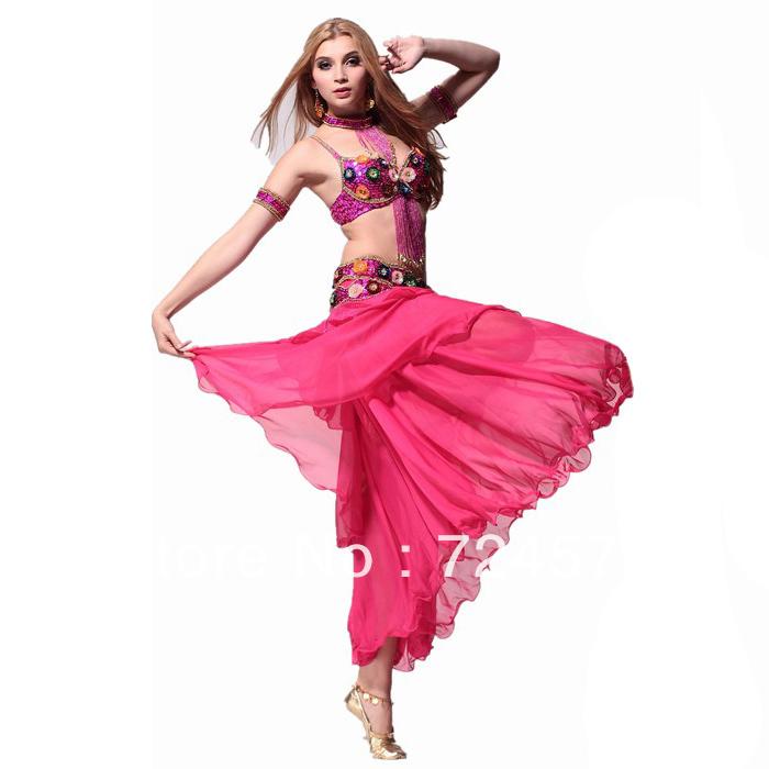 2013 belly dance set luxury performance wear bra cummerbund arm sleeve necklace skirtОдежда и ак�е��уары<br><br><br>Aliexpress