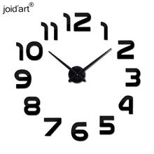 Buy 2017 fashion wall clock acrylic EVA mirror diy clocks original wall clock quartz 3d modern design wall sticker for $8.79 in AliExpress store