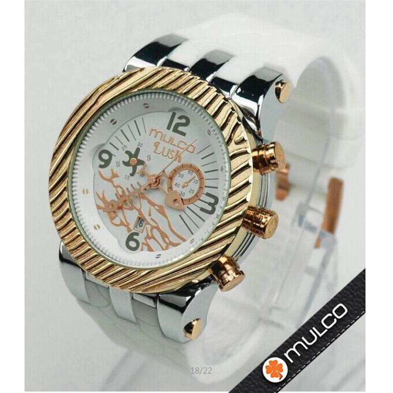 Mulco unisex lover Fashion Casual Quartz Wristwatches 2016 new LUSH style man sport waterproof watch women