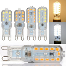 1Set 4Pcs 3W 5W G9 2835 220V Cool/Warm White 14/22led Halogen Replacement Lamp Bulb LED Spot Light Wedding Party Decorative Bulb(China (Mainland))