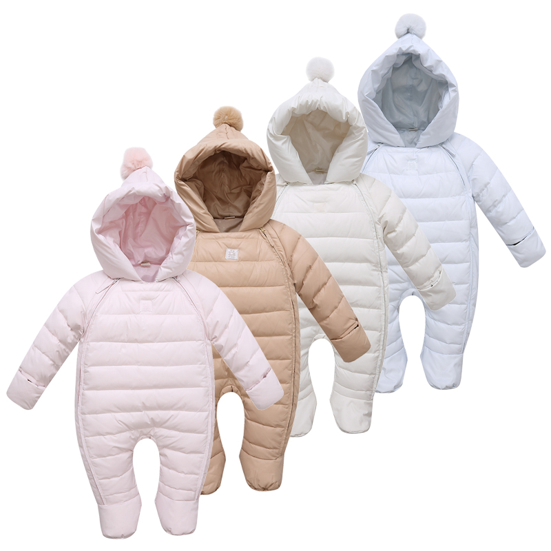 2015 New Arrival Jumpsuit Children Winter Down Jackets