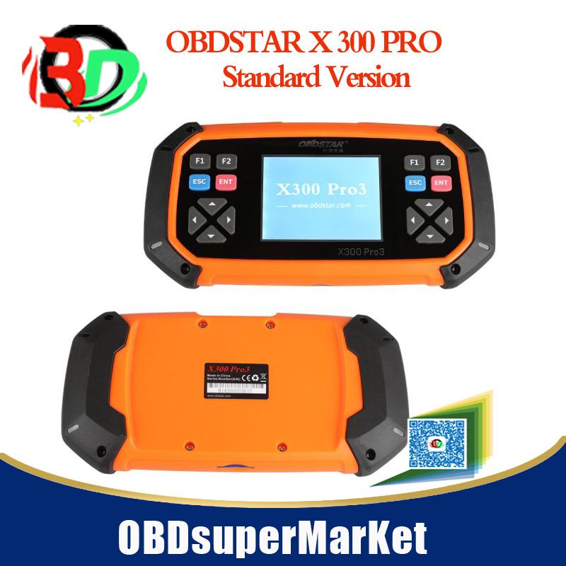 Mid-year Hot OBDSTAR key master X300 PRO3 standard version Immobiliser + Odometer adjustment +EEPROM/PIC+OBDII UPDATE FREE(China (Mainland))