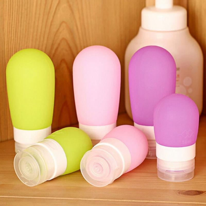 So cute Silicone Travel Lotion Shampoo Container Wash Gargle Bottle.(China (Mainland))