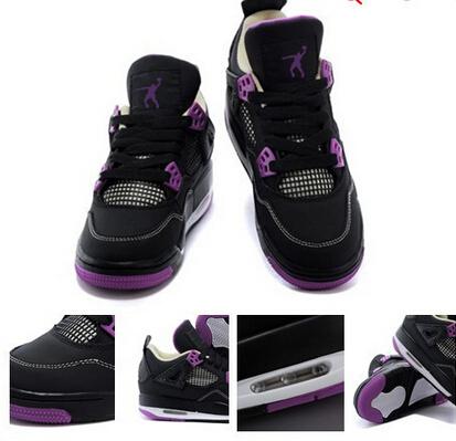 Famous women trainers 2015 new color retro chaussure femme basketball sport shoes 4s zapatillas de basquet size 36-40(China (Mainland))
