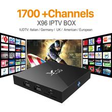 Buy X96 Android 6.0 Iptv Box IT UK DE Europe Arabic Smart TV Box Spain Portugal Turkish Netherlands IUDTV IPTV Media Player for $63.99 in AliExpress store