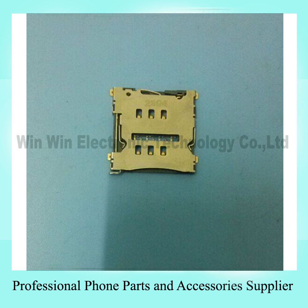 "SIM Card Reader Holder Connector for LG Nexus 5 D820 Qualcomm MSM8974 Snapdragon 800 1080 x 1920 Quad-Core 4.95"" Free shipping"