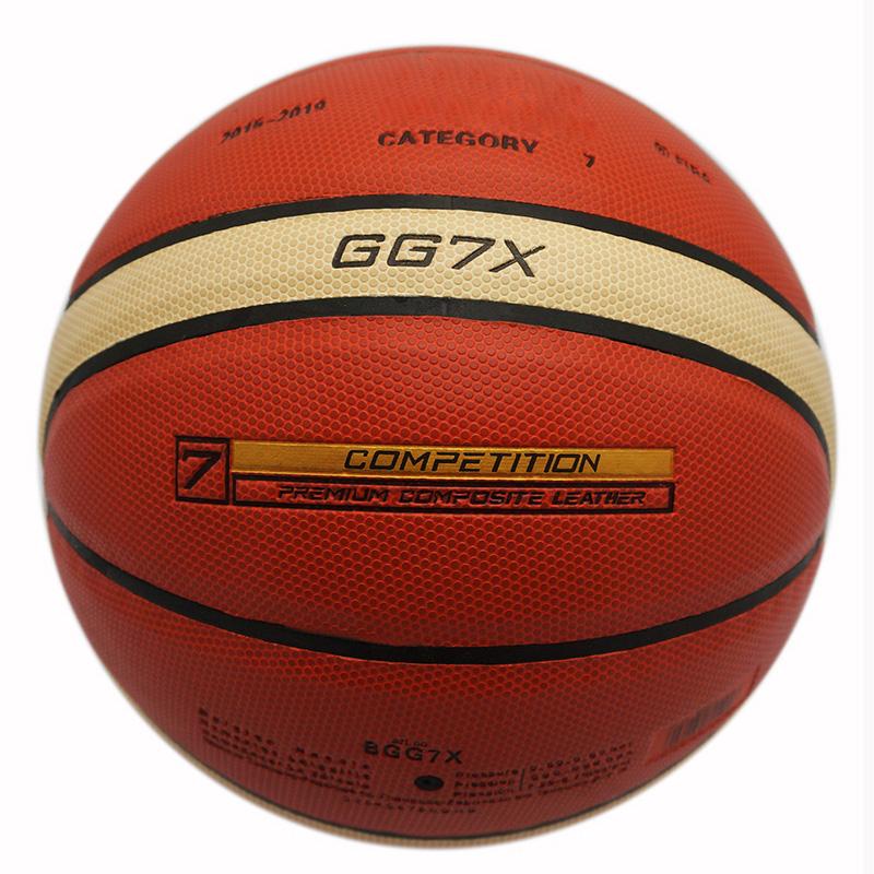 2015-2019 Molten GG7X Indoor Outdoor PU Leather Basketball Official Size 7 Basketball Ball PU Match Training Equipment GG7X(China (Mainland))